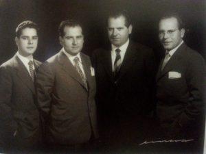 Los cuatro hermanos varones Barreiros: Celso, Graciliano, Eduardo y Valeriano.