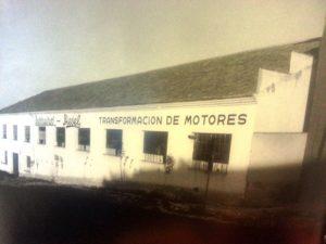 En esta nave, alquilada por 52.000 pesetas al mes en 1952 se instaló Barreiros en Madrid
